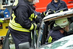 Das eCall-System ermöglicht Rettungskräften eine schnelle Handlungsweise nach einem Unfall.