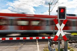 Ein Unfall am Bahnübergang ist keine Seltenheit