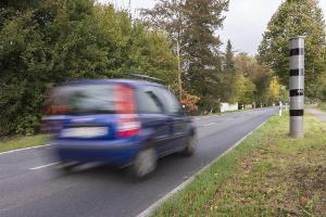 Sind Sie zu schnell unterwegs, kann ein Fahrverbot die Konsequenz sein.
